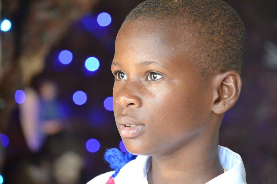 Enfant Noël Lumière