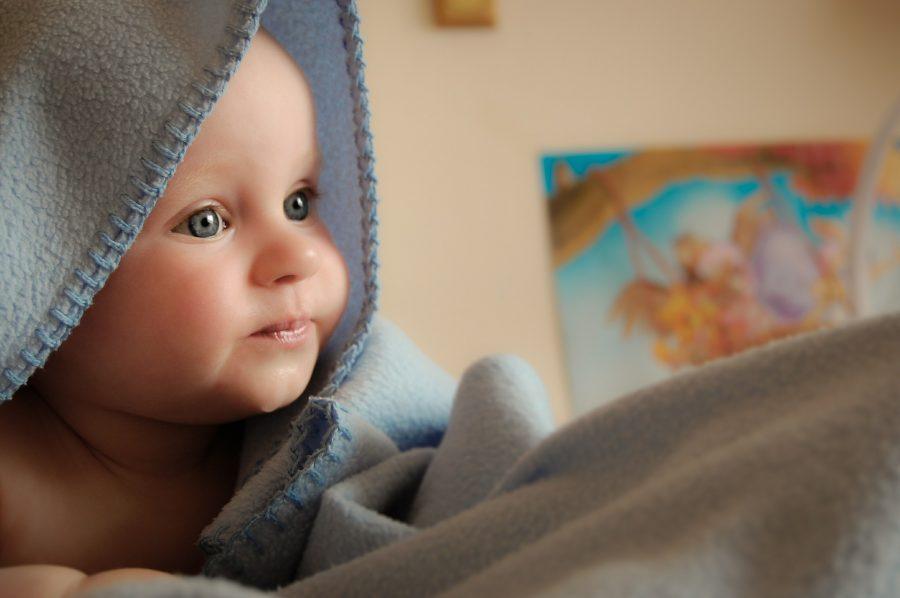 Petit, Enfant, Massage, Bébé,