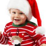 Petit, Garçon, Noël, Fête, Père-Noël,
