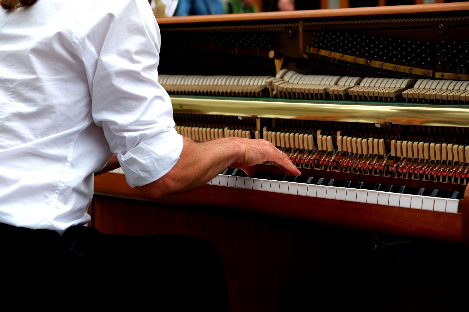 Musicien, Musique, Pierre, Loisir, Piano,