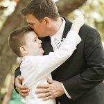 Child, Garçon, Fête-des-Pères, Famille, Tradition, Enfant, Cadeau, Joie, Rire,