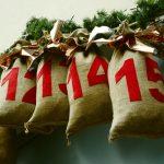 Calendrier, Noël, Enfant, Famille,